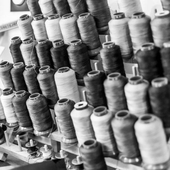 Bobines spéciales cuir - © Julien Leplumey